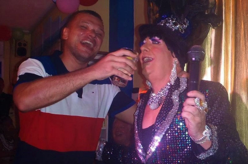 Will Sparkle comedy drag show Benidorm